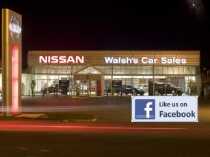 Nissan Ireland | WALSH'S CAR SALES, Cork Road