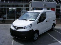 NV 200 Fridge Van, PRICE INCLUDES €3000 SCRAPPAGE TRADE IN ALLOWANCE, RETAIL €21,600 INC VAT OR €17,560 EX VAT