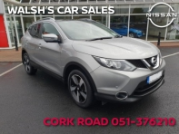 """1.5 SV PREMIUM 17 4DR TOTAL SPEC, FULL LEATHER SEATS, 18"""" DIAMOND CUT ALLOY, SAT NAV, PARKING SENSORS & CAMERAS, PANORAMIC ROOF & ROOF RAIL, ONE OWNER, FULL NISSAN SERVICE HISTORY, €23, 995 LESS €2, 000 SCRAPPAGE SPECIAL"""