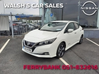 40KWh SV PREMIUM ONLY 1,000kms. NEW PRICE €32,140, NOW ONLY €29,995 LESS €3,000 SCRAPPAGE SPECIAL = €26,995. MAKE AN ENQUIRY, APPLY FOR FINANCE OR RESERVE ONLINE TODAY SEE LINK BELOW