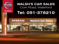1.6 DCI SV CVT AUTO WITH SAFETY PACK, HI-SPEC INCL ALL ROUND SENSORS, ONE OWNER, FULL NISSAN SERVICE HISTORY €16,950 LESS €1,000 SCRAPPAGE SPECIAL